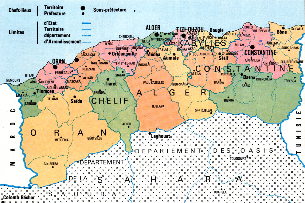 Carte algerie ministere de l interieur pictures for Interieur algerien